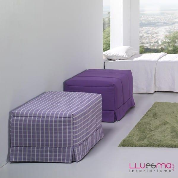 Puff cama de 90 cm sofas cama valencia tienda sofas en for Sillon cama valencia