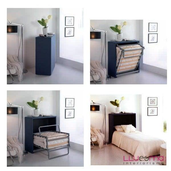 Mueble con cama plegable de calidad a buen precio sofas for Muebles precios