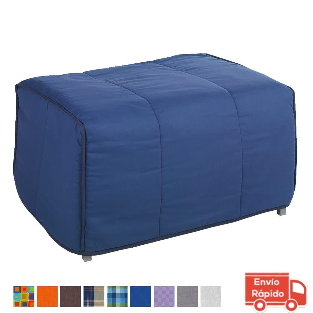 Puff cama plegable que ocupa poco espacio sofas cama - Sofa cama que ocupen poco espacio ...